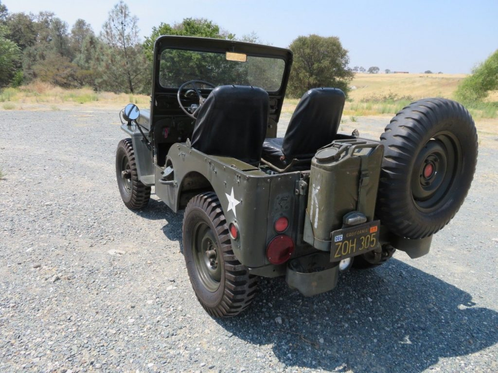 rust free 1952 Willys M38 Military