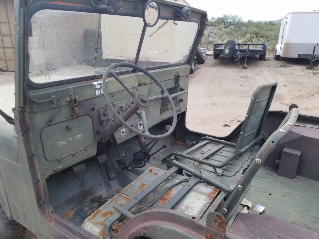solid 1960 Jeep M38a1 Willys military