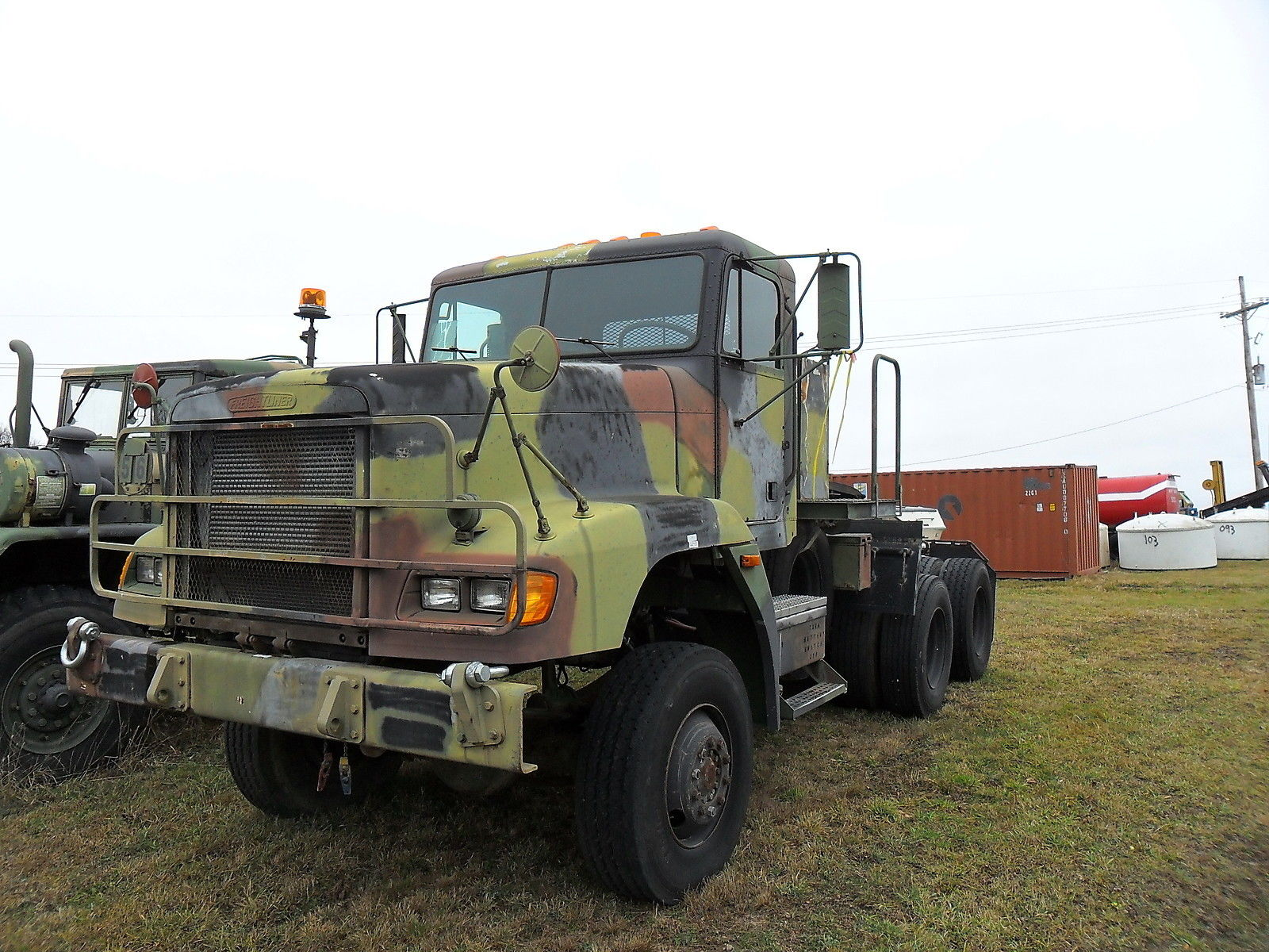 strong 1992 Freightliner M916a1 6X6 Truck military