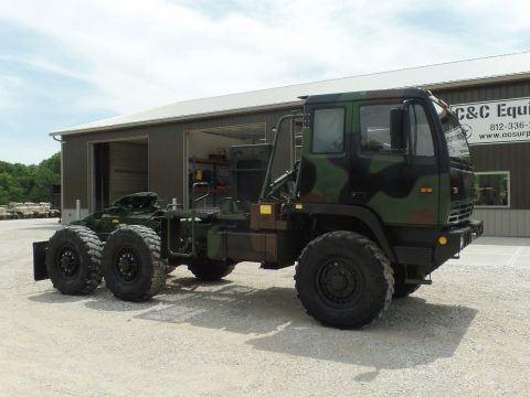 super clean 2001 Stewart Stevenson MTV M1088 Semi Truck military for sale