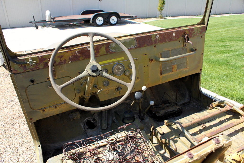 unrestored 1953 Willys M38a1 military