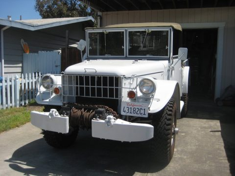 upgraded 1963 Dodge m37 Power wagon military for sale