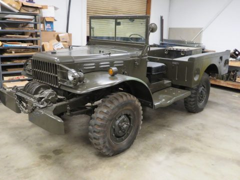 Weapons Carrier 1945 Dodge WC52 WWII MILITARY for sale