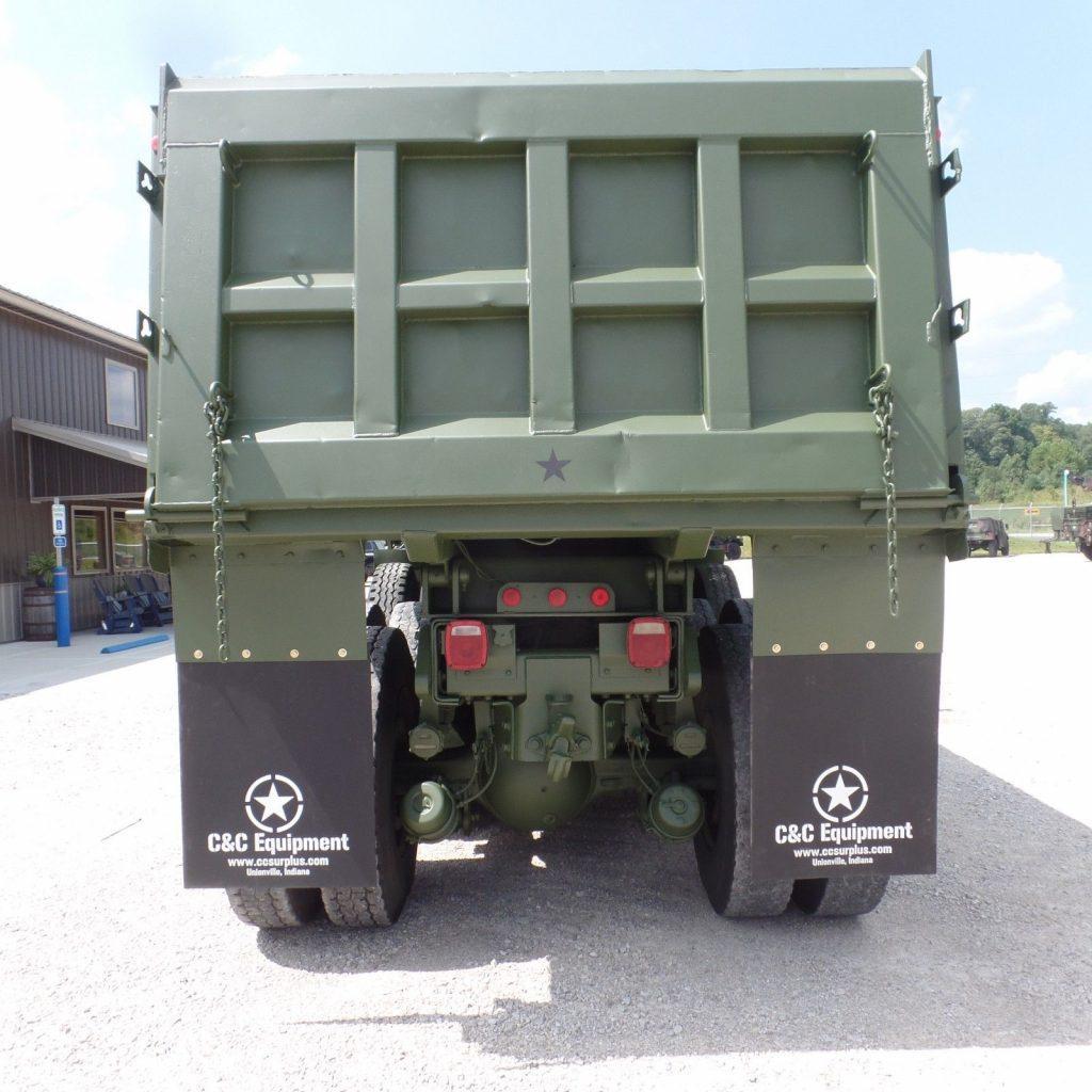 clean 1979 AM General M917 8×6 Military dump Truck