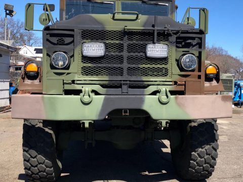 clean 1990 BMY M931a2 6X6 Military Truck for sale