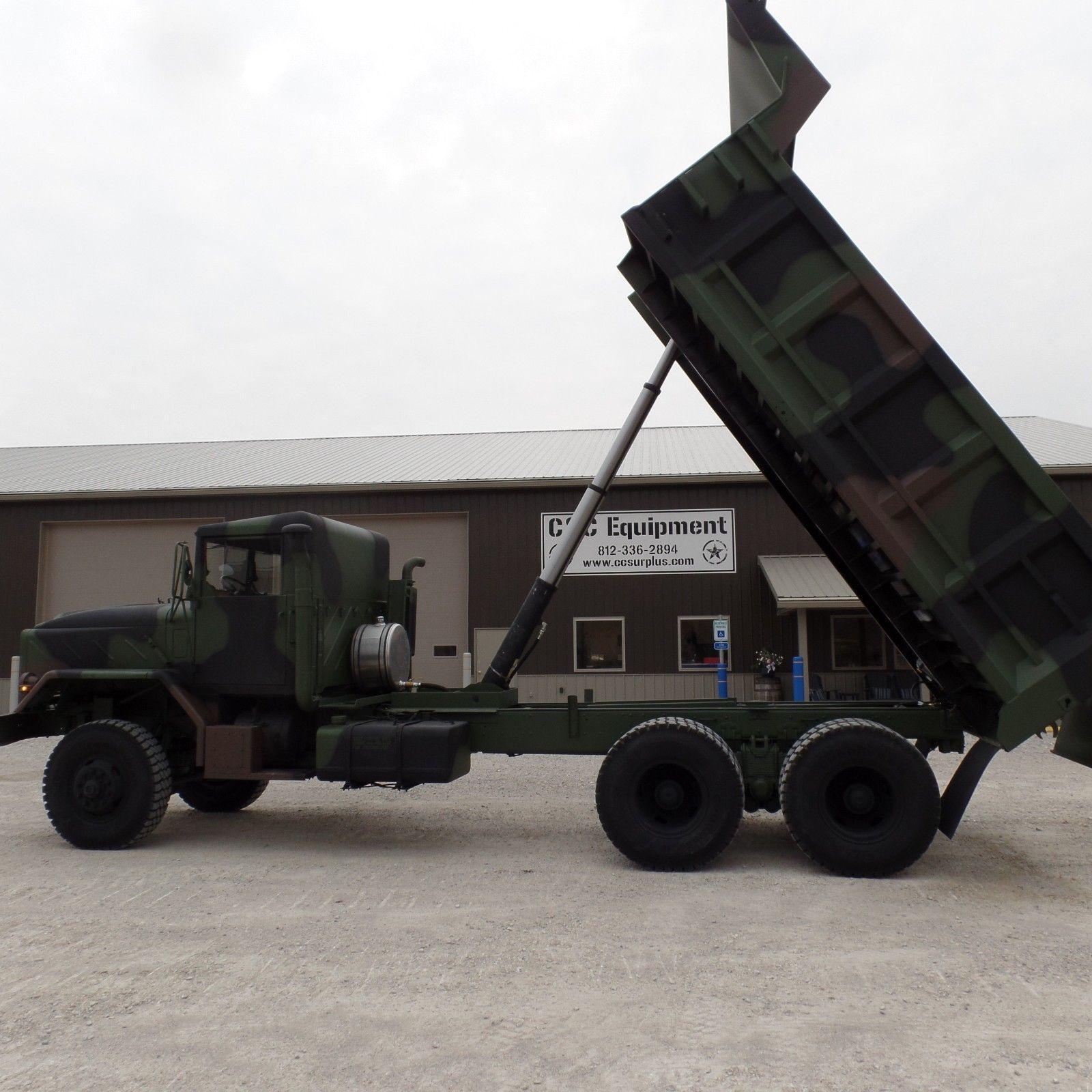 dump truck 1984 AM General M934a1 military