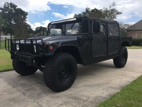 low miles 1989 AM General M998 Humvee 4X4 military for sale