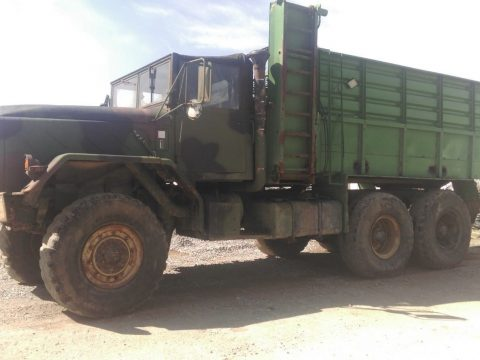 needs service 1984 AM General M923A1 military truck for sale