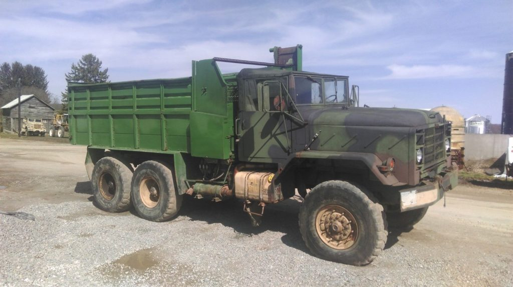 needs service 1984 AM General M923A1 military truck