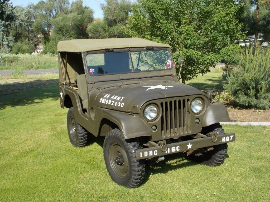 new parts 1954 Willys M38A1 military