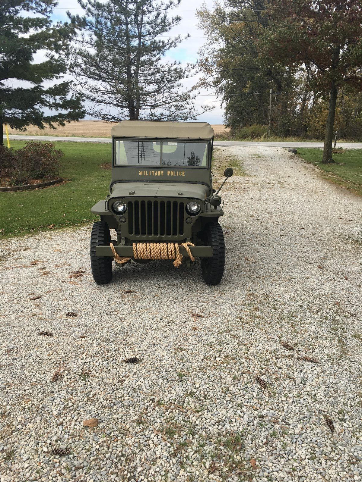 professionally rebuilt 1942 Ford GPW military for sale