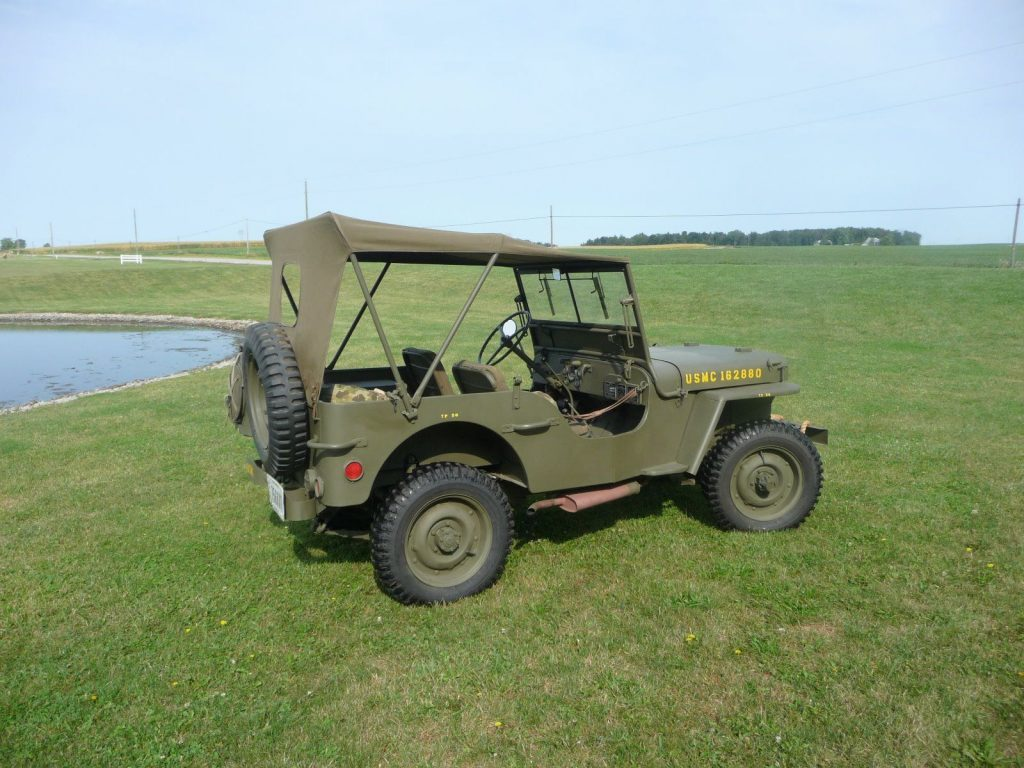professionally rebuilt 1942 Ford GPW military