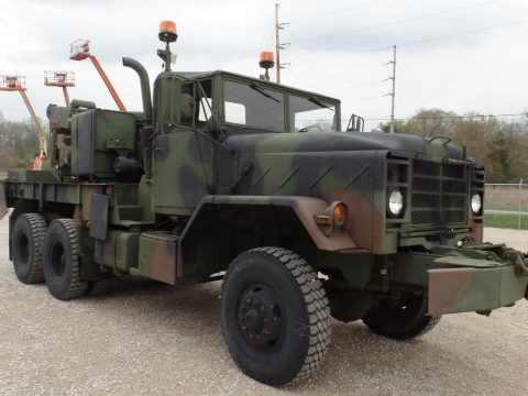 rebuilt 1985 BMY M936a1 Military Wrecker Truck for sale