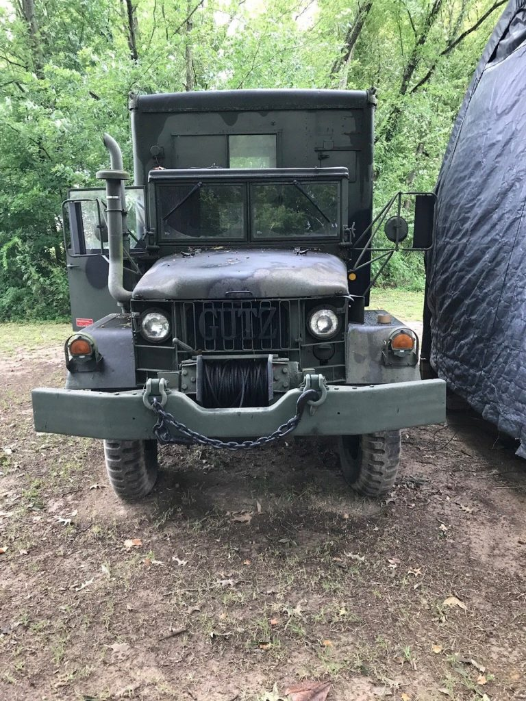 restored 1966 Kaiser Jeep M military truck