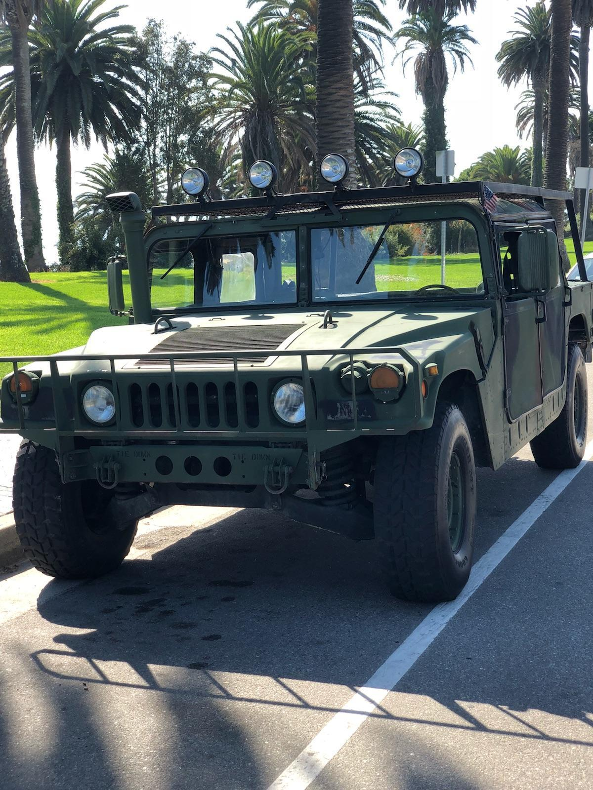 serviced 1987 AM General Humvee M998 HMMWV H1 military for sale