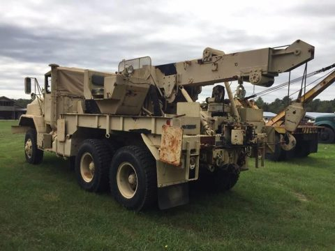 strong 1985 AM General M936a1 Military Wrecker for sale
