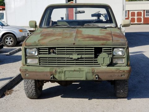 strong 1986 Chevrolet M1008 CUCV Military for sale