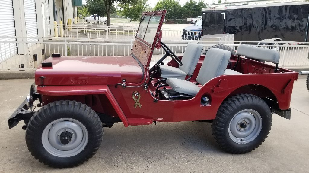 very nice 1946 Willys Jeep military