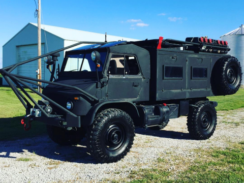 very nice 1962 Mercedes Benz Unimog military for sale