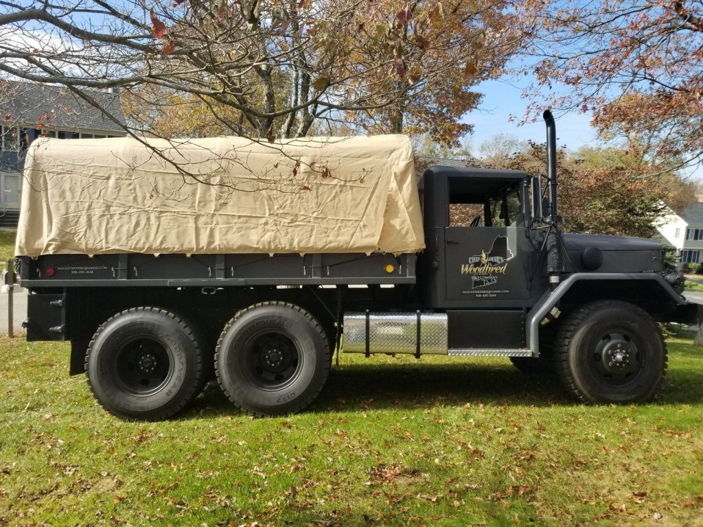 very nice 1963 M35a2 Custom Duece and Half military