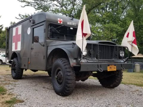 very nice 1969 Jeep M725 Military Ambulance for sale
