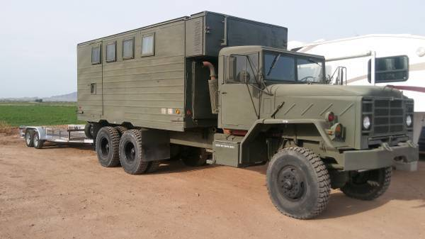 well kept 1984 AM General m934 5ton Military Truck