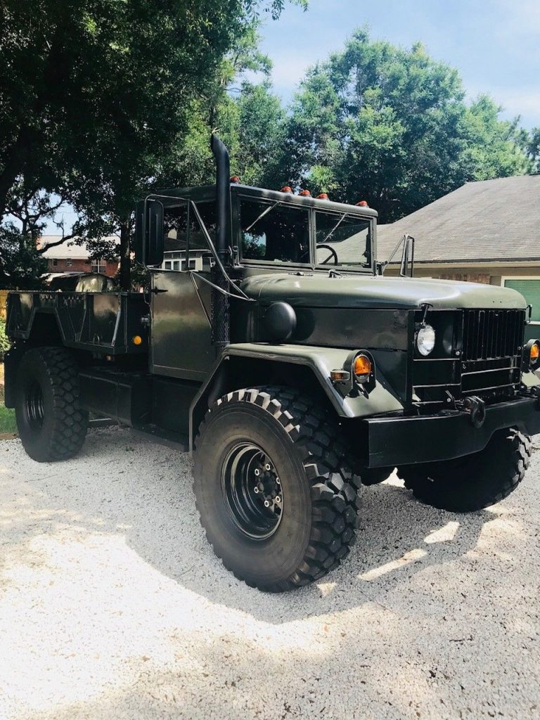 Bobbed 1985 AM General Deuce and a Half military truck