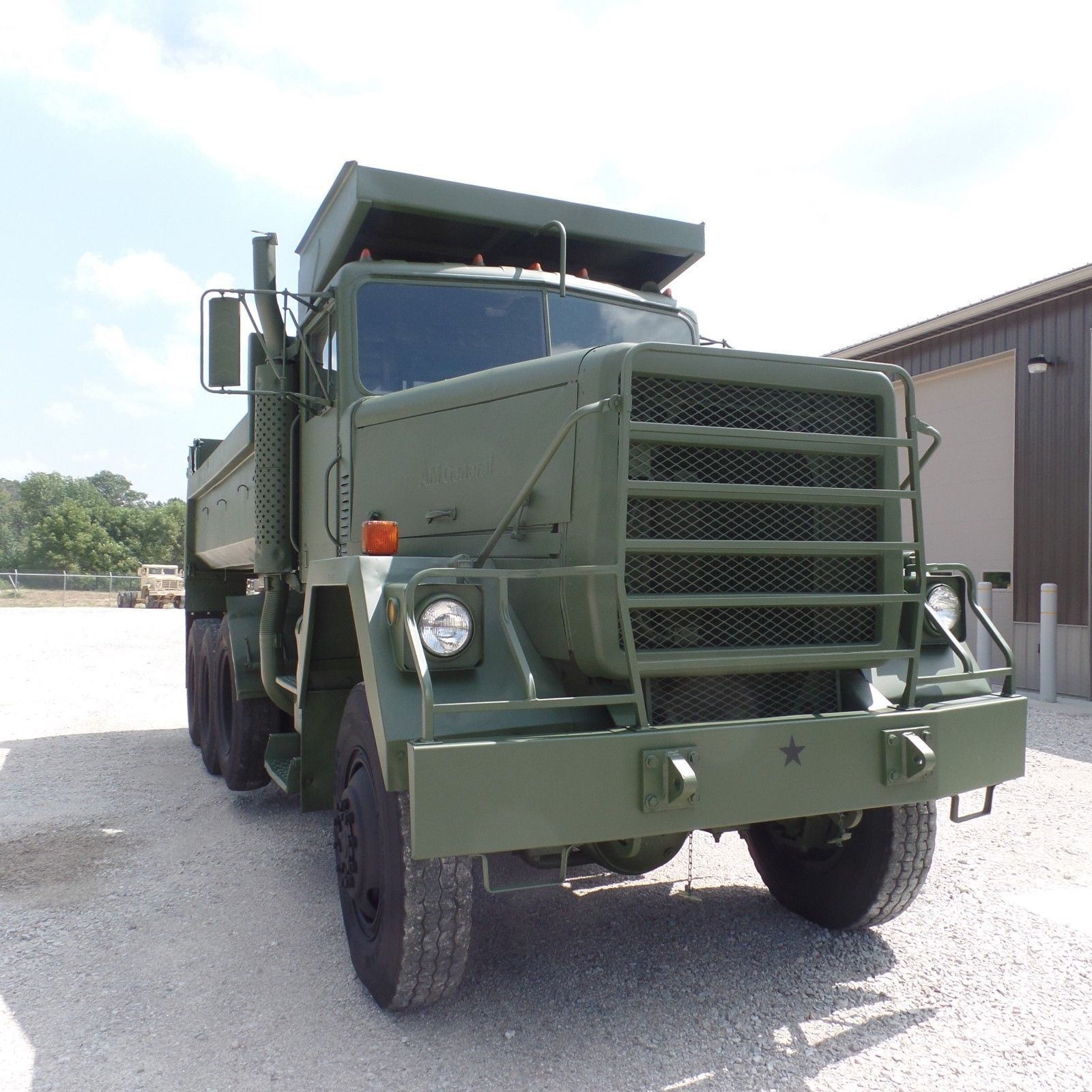 Clean 1979 AM General military dump truck
