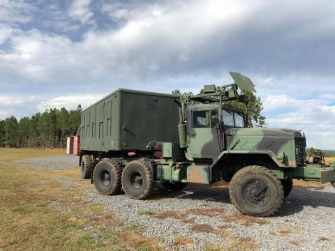 Converted to M932a2 1990 AM General M931a2 military truck for sale