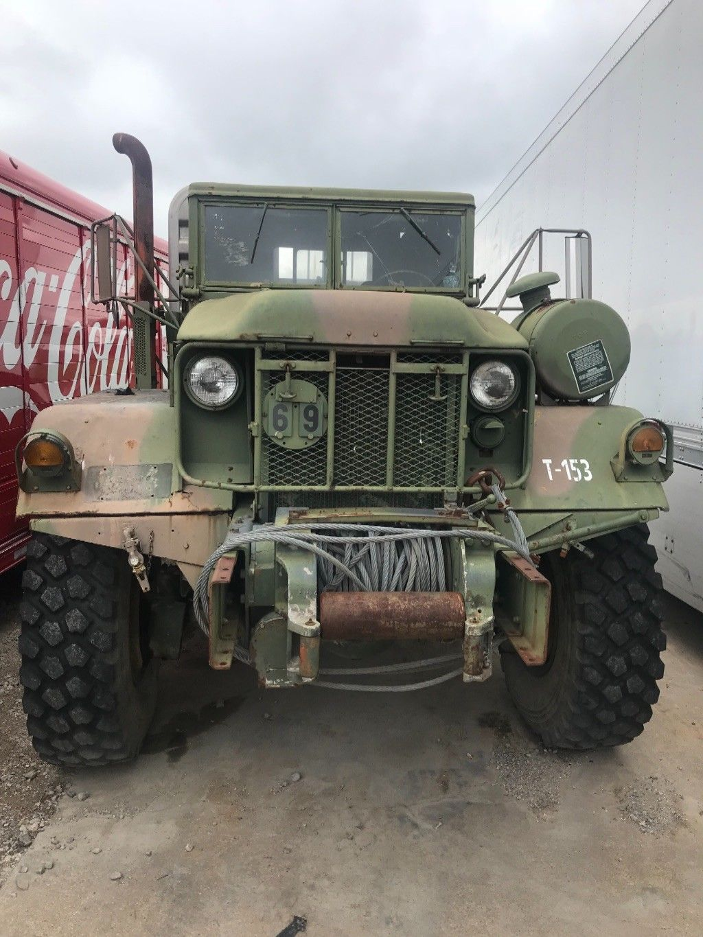 fully serviced 1972 Kaiser Jeep Xm818 6X6 Military for sale