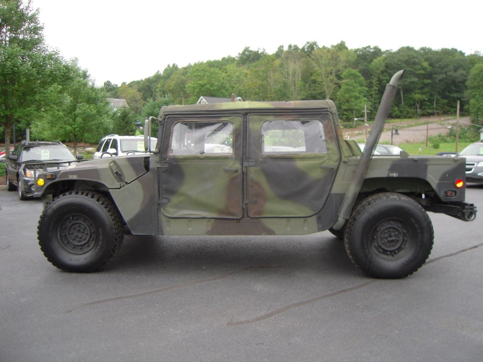 great running 1990 Hummer AM General military