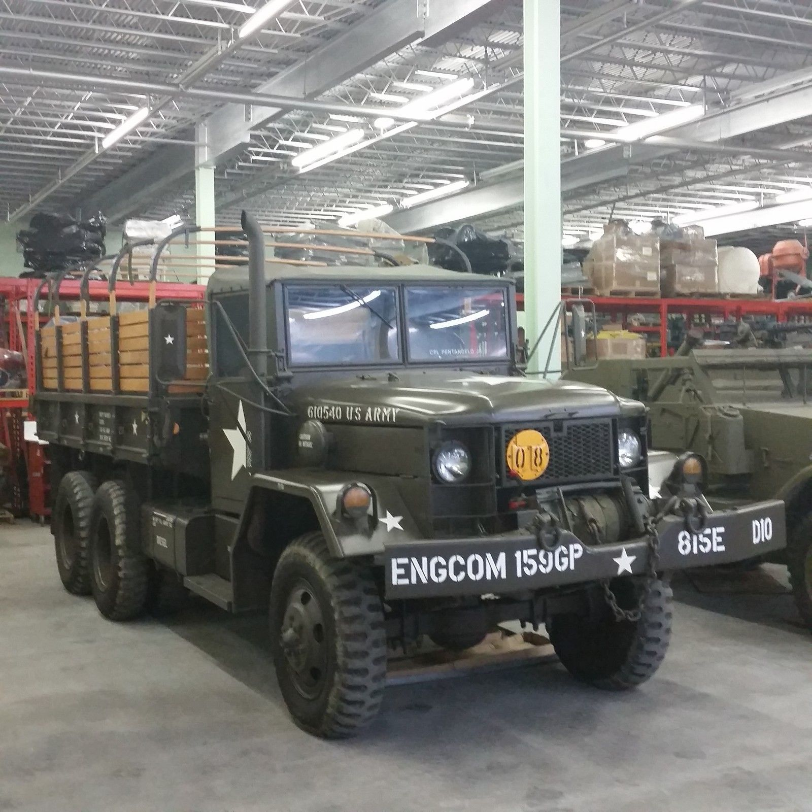 Great shape 1973 AM General Deuce and a Half Truck military for sale