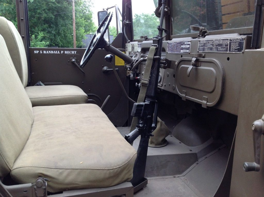 Great shape 1973 AM General Deuce and a Half Truck military