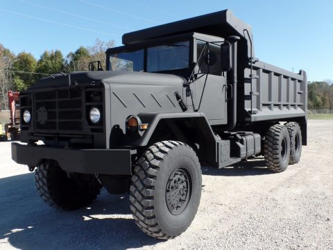 low miles 1990 BMY M934a2 Military dump truck for sale
