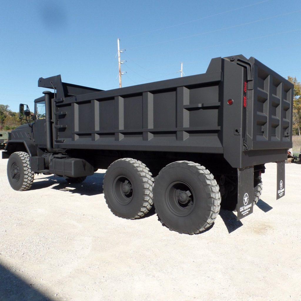 low miles 1990 BMY M934a2 Military dump truck