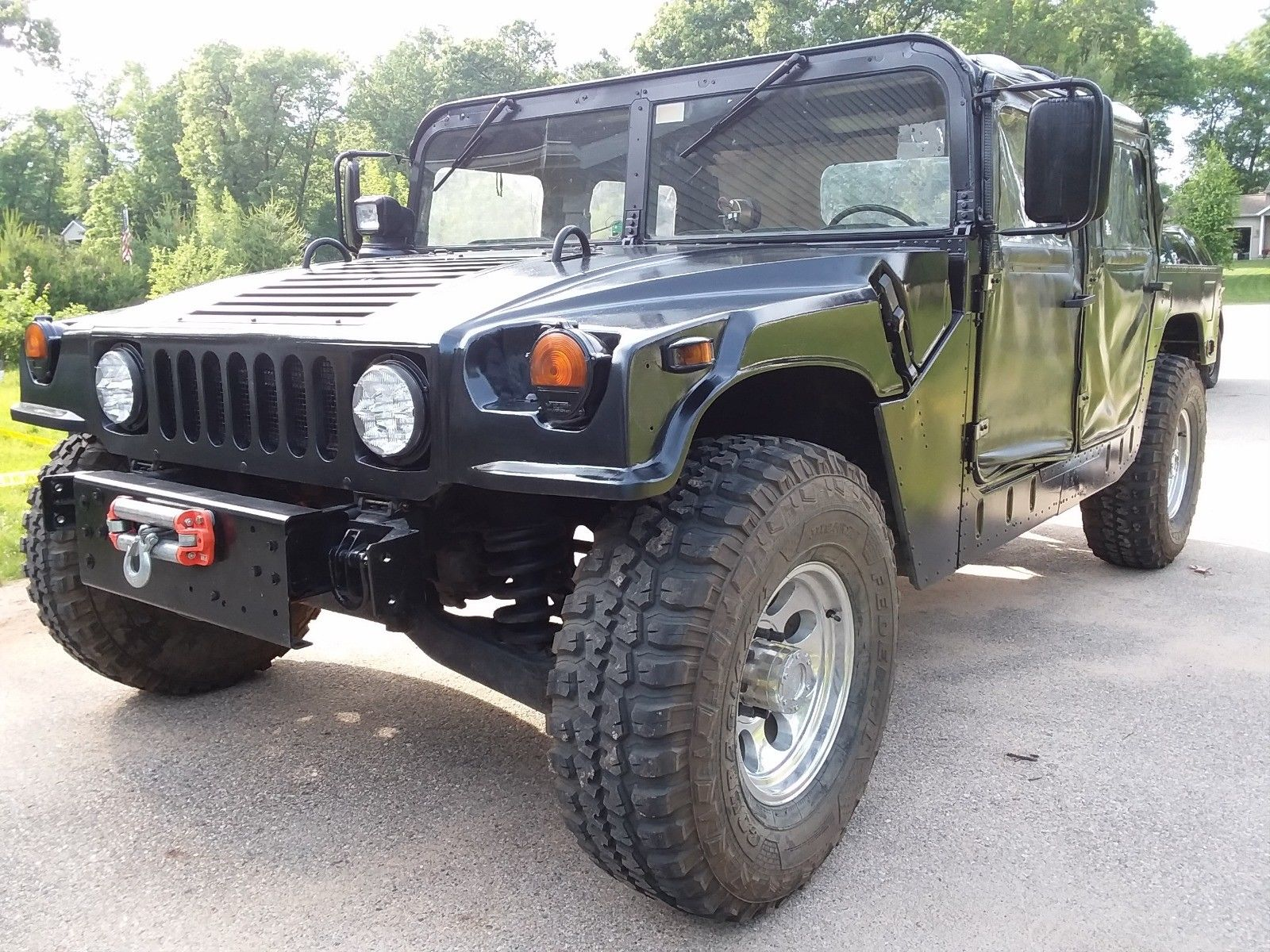new paint 1990 Hummer h1 M998 700r4 HD Overdrive military for sale