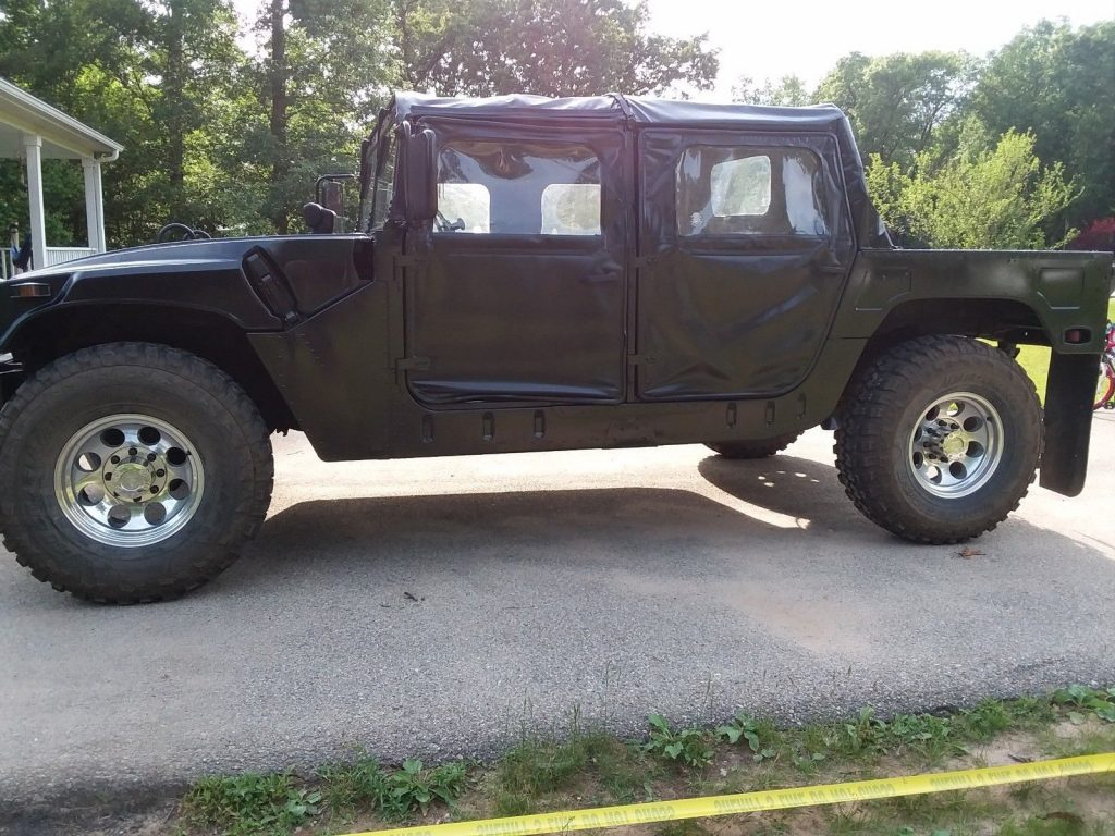 new paint 1990 Hummer h1 M998 700r4 HD Overdrive military