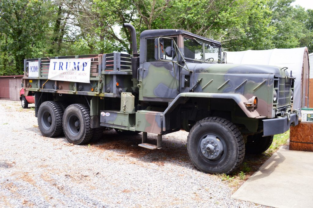 nice and solid 1984 AM General M923 5 Ton Military Truck