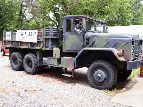 nice and solid 1984 AM General M923 5 Ton Military Truck for sale