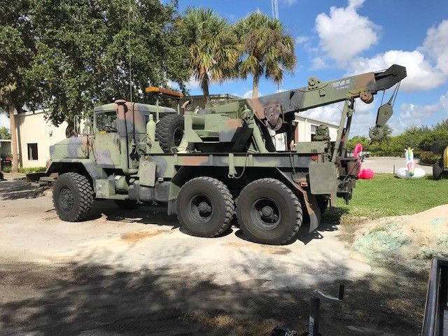 serviced 1991 AM General military truck