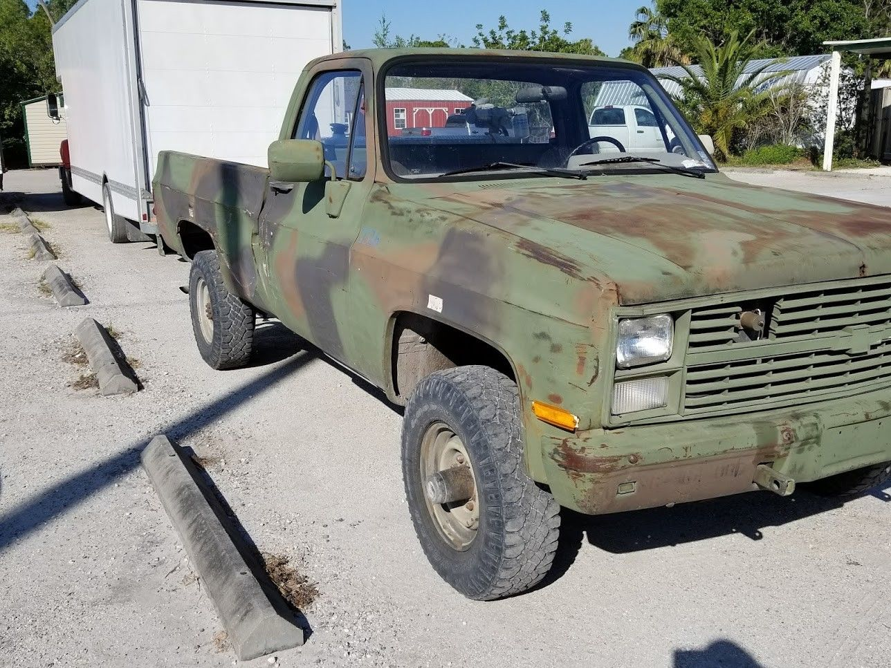solid 1986 Chevrolet M1008 CUCV military pickup for sale