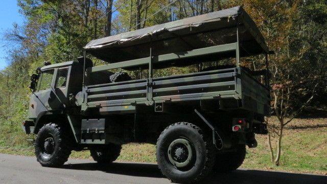 clean 1996 Stewart & Stevenson LMTV M1078 4×4 military