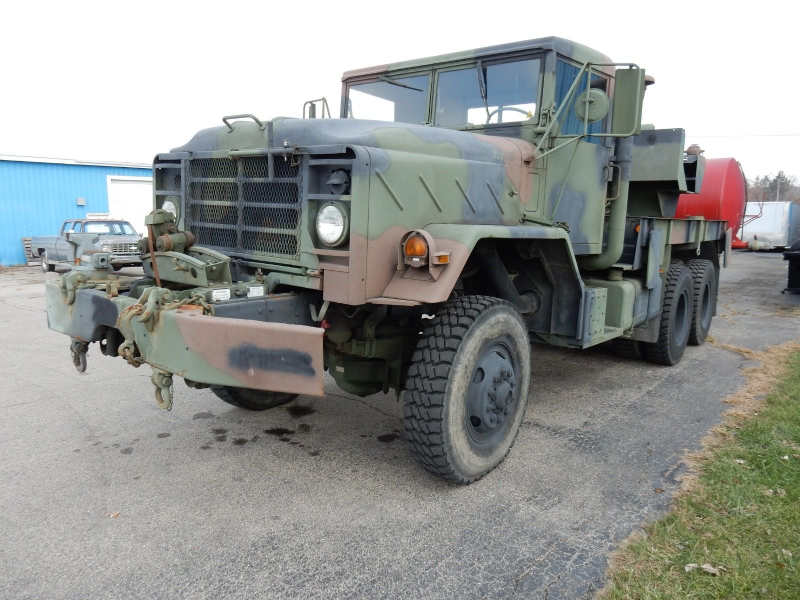 Excellent shape 1984 AM General M936 5 Ton 6×6 Rotator/Wrecker military for sale