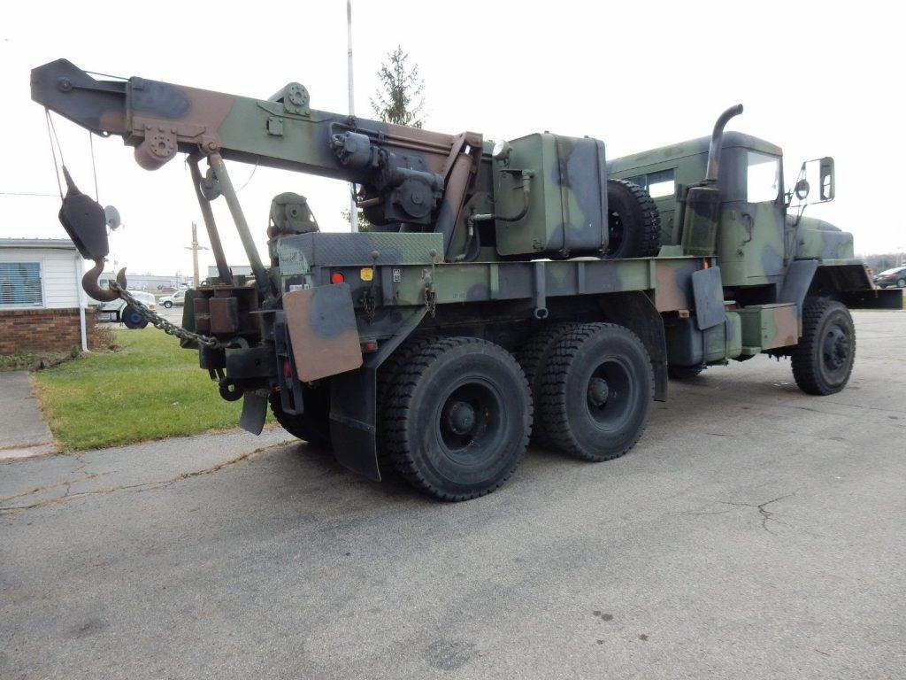Excellent shape 1984 AM General M936 5 Ton 6×6 Rotator/Wrecker military