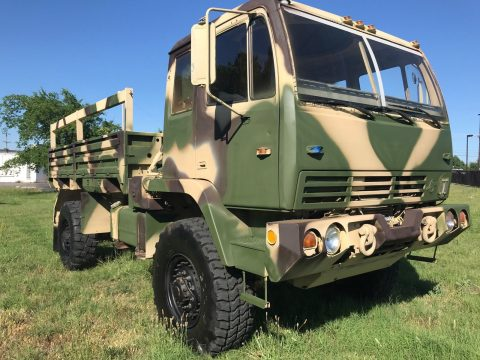 extremely versatile 1997 Stewart Stevenson LMTV 1078 military for sale
