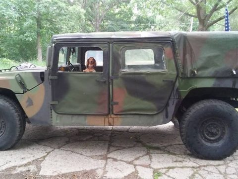 good running 1994 AM General Humvee military for sale