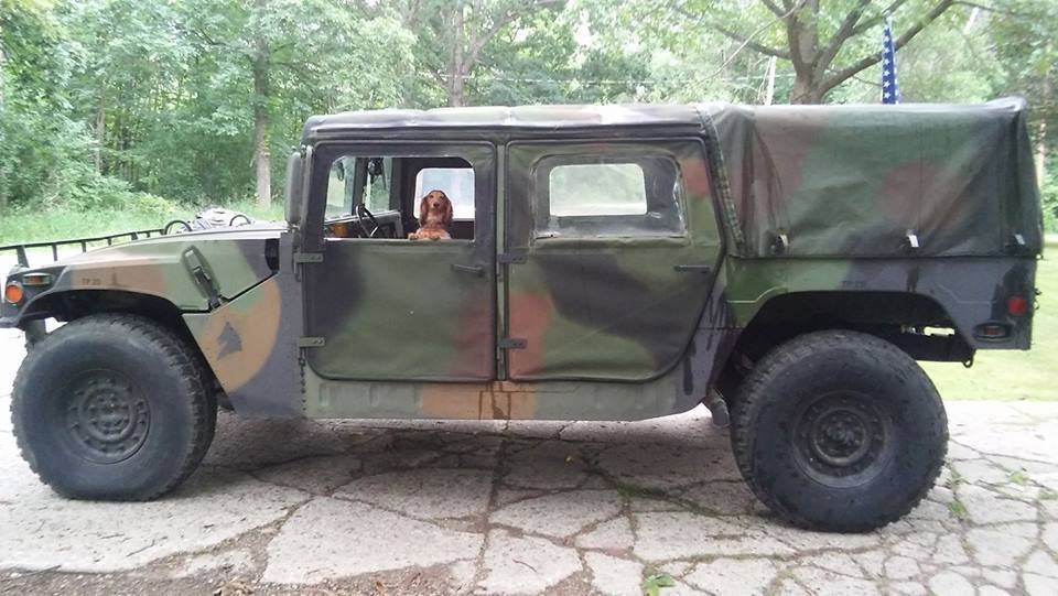 good running 1994 AM General Humvee military