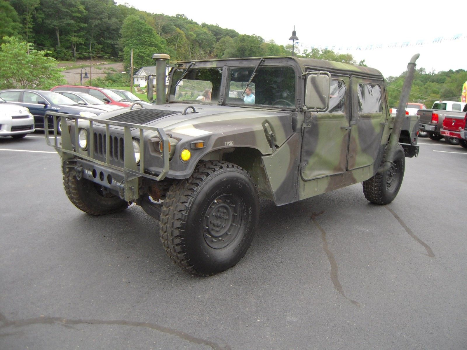 great running 1990 AM General Hummer H1 military