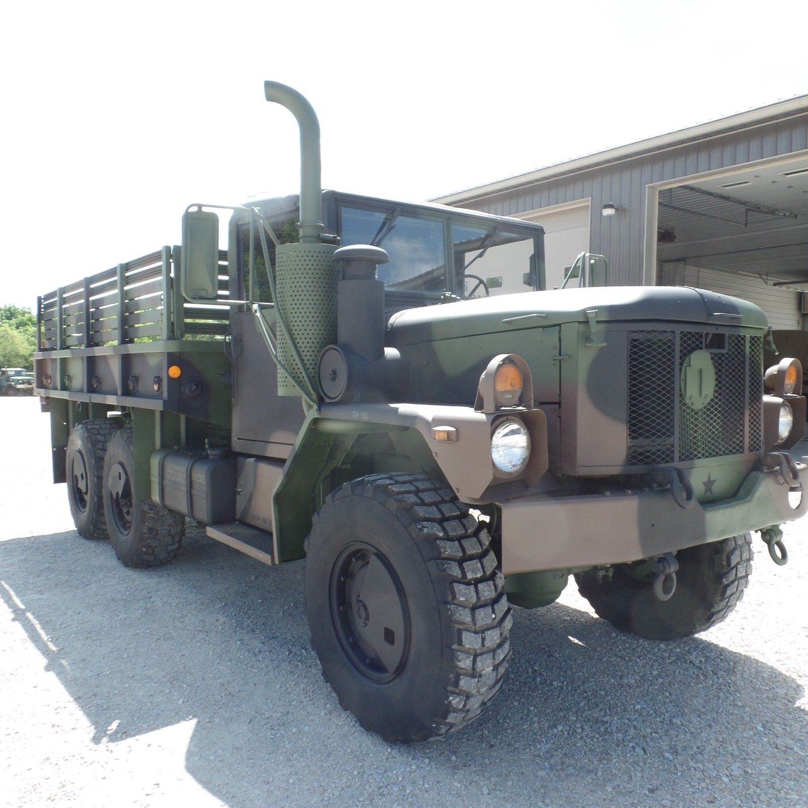 great shape 1996 BMY M35a3 Military Cargo Truck for sale