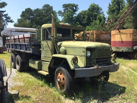 low miles 1973 AM General M36a2 Army Dump Truck 6×6 for sale